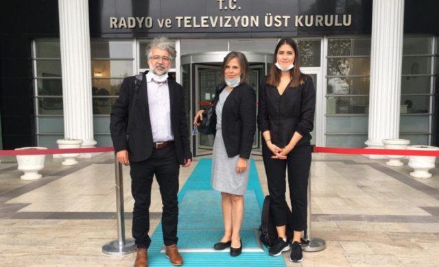 Three press freedom in Turkey advocates
